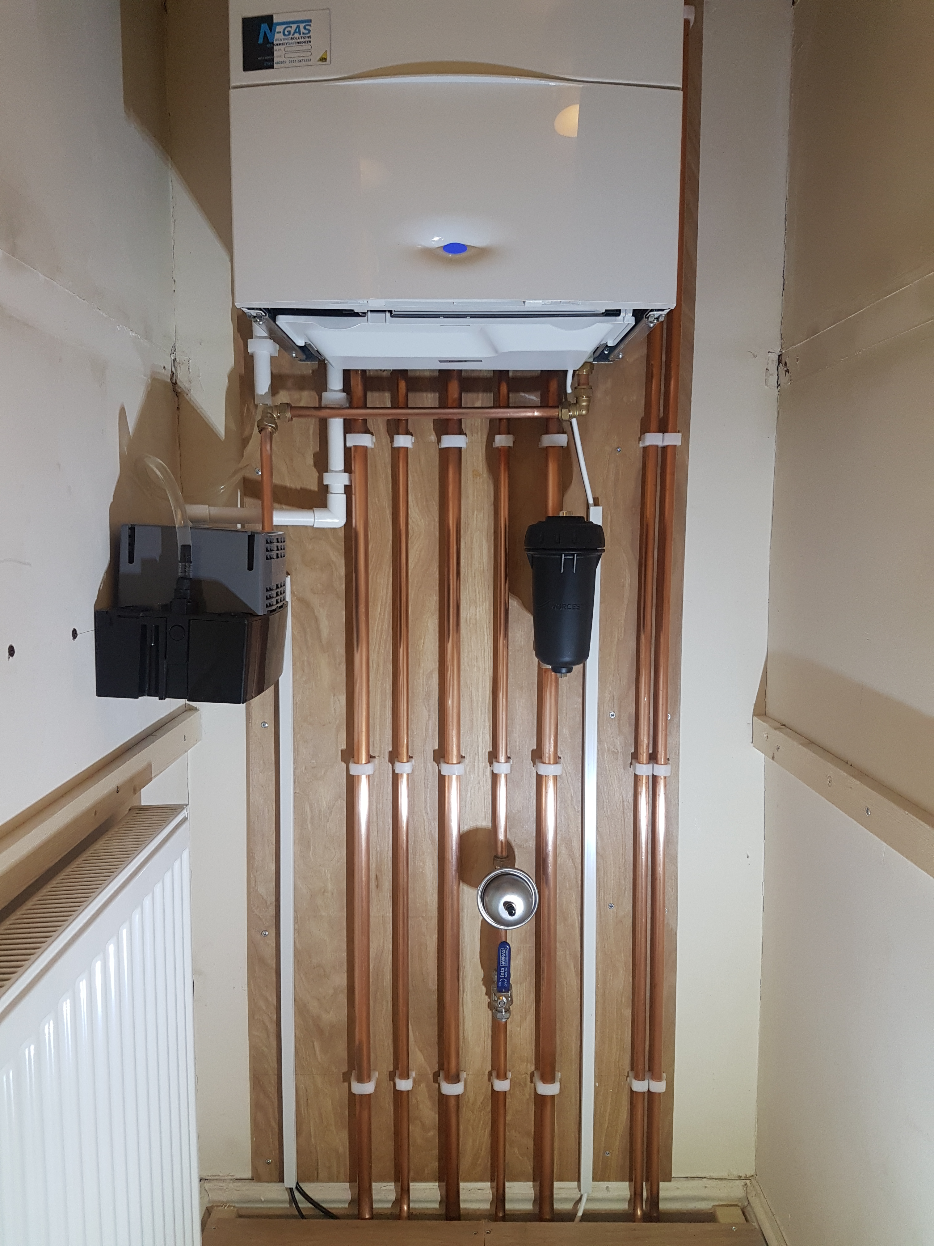 Central Heating Boiler Installation In Mold North Wales